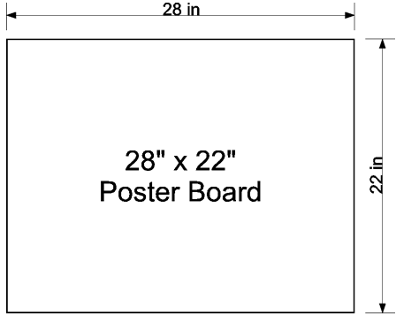 Weather Resistant Poster Board Yard Sign Blanks