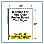 Wholesale Poster Board Sign Frames