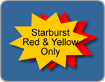 Wholesale Corrugated Plastic Starburst Yard Sign Blanks